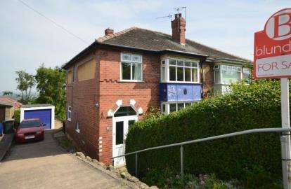 3 Bedrooms Semi Detached House for sale in The Brow, Rotherham, South Yorkshire