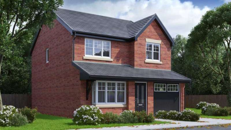 4 Bedrooms Detached House for sale in Hough Fold Way, Bolton