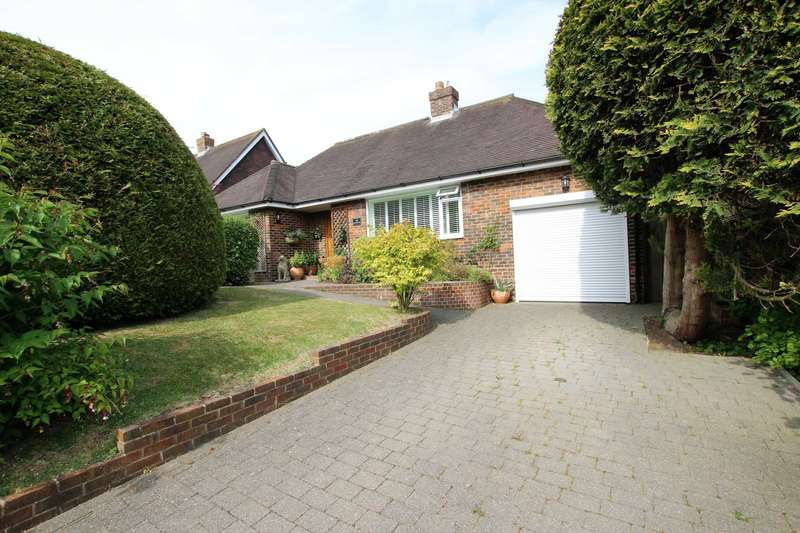 2 Bedrooms Detached Bungalow for sale in Peakdean Lane, Eastbourne, BN20 0JD