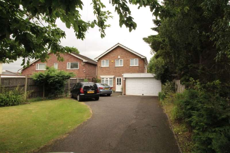 4 Bedrooms Detached House for sale in A Dominion Road, Glenfield, Leicester, LE3