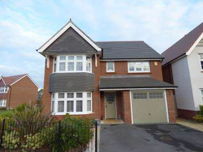 4 Bedrooms Detached House for sale in Catherall Avenue, Buckley, Flintshire, CH7
