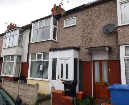 2 Bedrooms House for sale in Victoria Road, Rhyl, Denbighshire, LL18