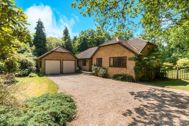 3 Bedrooms Bungalow for sale in Baughurst, Tadley, Hampshire