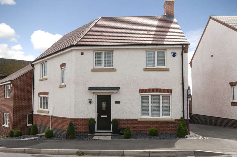3 Bedrooms Detached House for sale in Spitfire Road, Castle Donington, Derbyshire