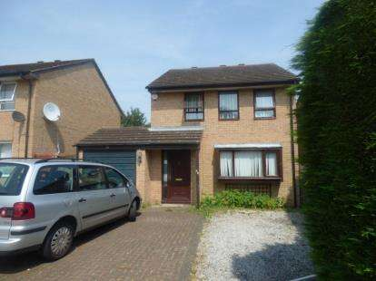 4 Bedrooms Detached House for sale in Teasel Avenue, Conniburrow, Milton Keynes
