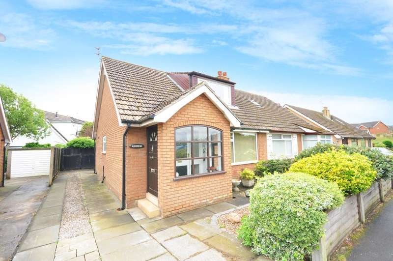 3 Bedrooms Semi Detached Bungalow for sale in Mowbreck Lane, Wesham, Preston, Lancashire, PR4 3HA