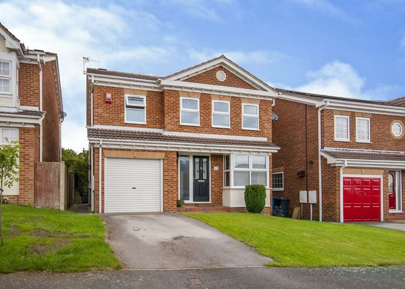 4 Bedrooms Detached House for sale in Abbeyhill Close, Chesterfield, Derbyshire, S42