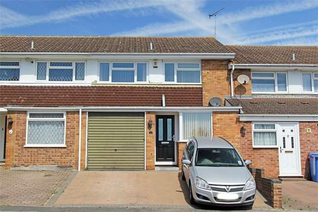 3 Bedrooms Terraced House for sale in Woollett Road, Grove Park, Sittingbourne, Kent
