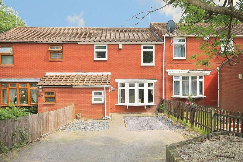3 Bedrooms Terraced House for sale in Quince, Amington, Tamworth, B77 4EN