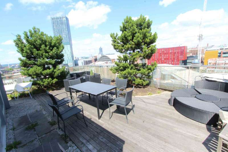 2 Bedrooms Apartment Flat for rent in Lumiere Apartments, City Road East, Manchester, M15 4QN