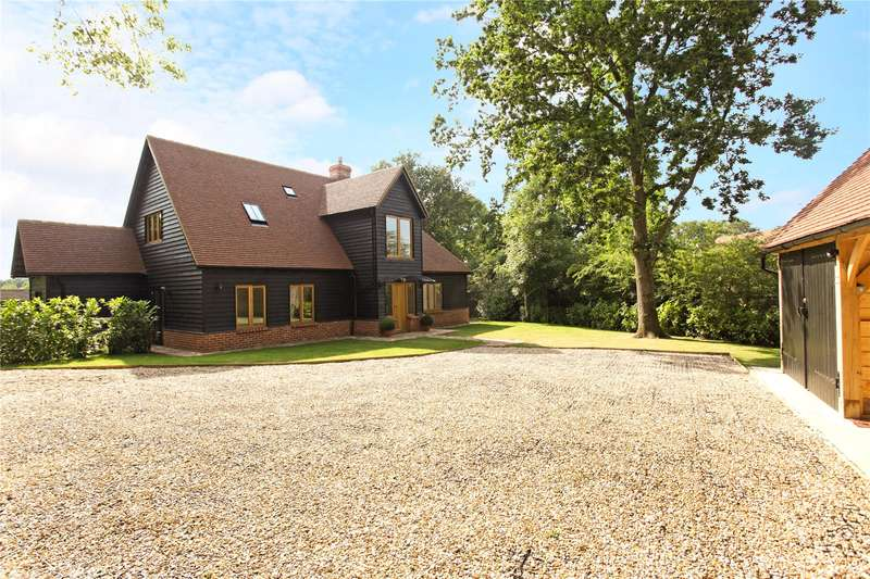 4 Bedrooms Detached House for sale in Wanborough Lane, Cranleigh, Surrey, GU6