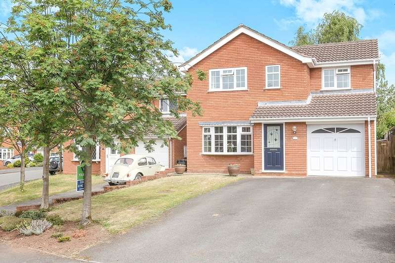 4 Bedrooms Detached House for sale in Kingswear Avenue, Perton, Wolverhampton, WV6