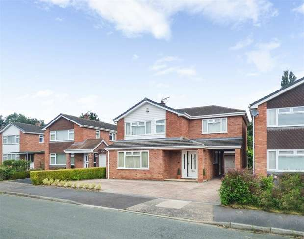 4 Bedrooms Detached House for sale in Carmen Avenue, Shrewsbury, Shropshire