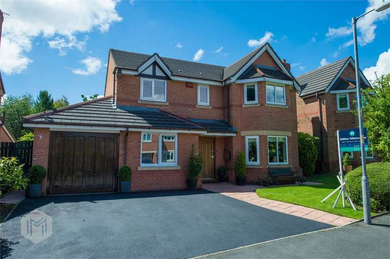 4 Bedrooms Detached House for sale in Waterslea Drive, Heaton, Bolton, Lancashire