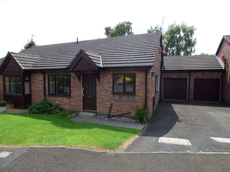 2 Bedrooms Semi Detached Bungalow for sale in Lakeside Green, Stockport