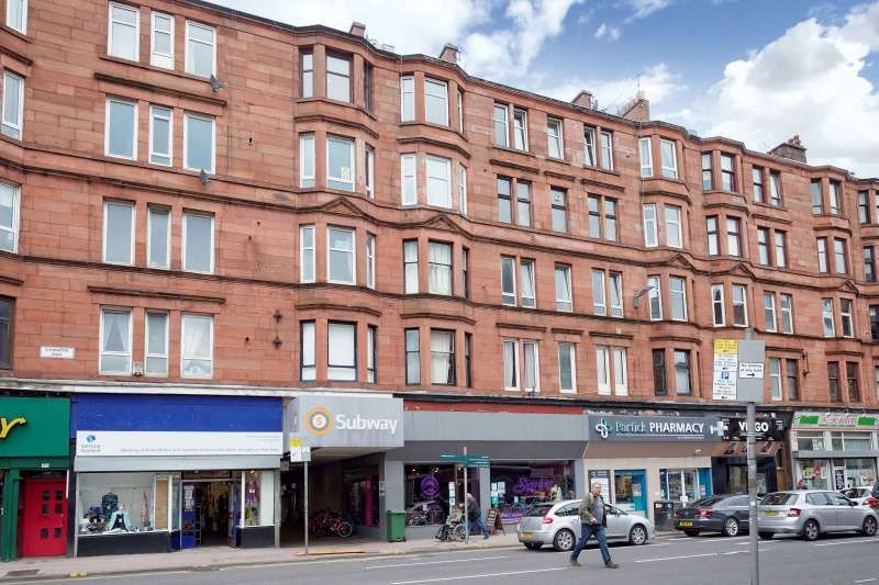 1 Bedroom Flat for sale in Dalcross Pass, Partick, Glasgow, G11 5RA