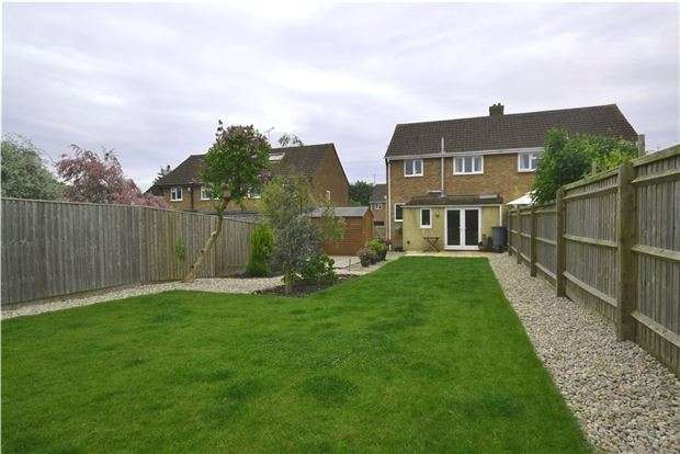 3 Bedrooms Semi Detached House for sale in South Lawn, WITNEY, Oxfordshire, OX28 5HU