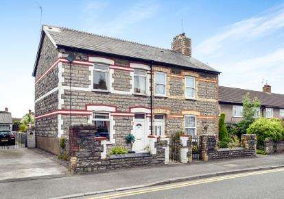 2 Bedrooms Semi Detached House for sale in Redlands Road, Penarth, Vale Of Glamorgan, Penarth