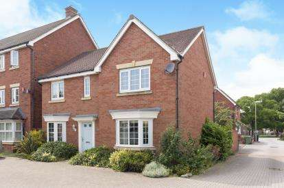 4 Bedrooms Detached House for sale in Woodvale Kingsway, Quedgeley, Gloucester, Gloucestershire