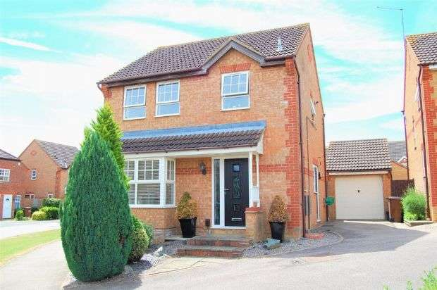 3 Bedrooms Detached House for sale in Wisteria Way, Abington Vale, Northampton NN3 3QB