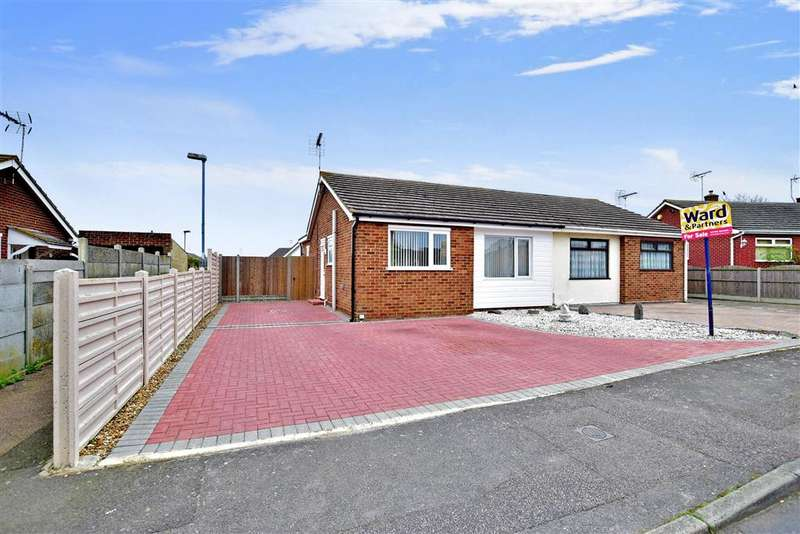 2 Bedrooms Semi Detached Bungalow for sale in Ashley Close, Halfway, Sheerness, Kent