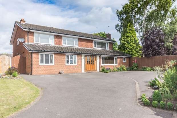 6 Bedrooms Detached House for sale in Wentworth Drive, Lichfield, Staffordshire