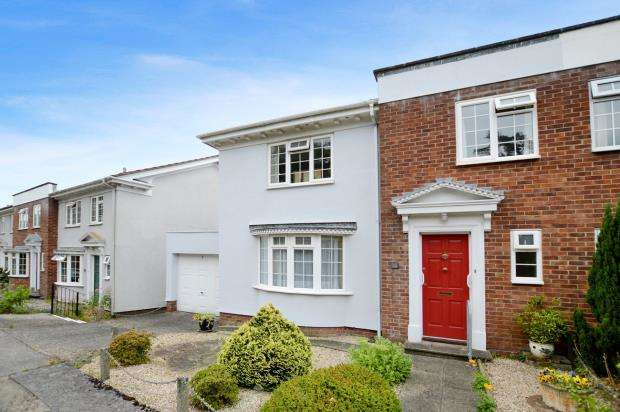 3 Bedrooms Semi Detached House for sale in Broadmeade Court, Forde Park, Newton Abbot, Devon