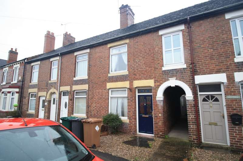 3 Bedrooms Terraced House for sale in Woodville Road, Swadlincote, Derbyshire, DE12