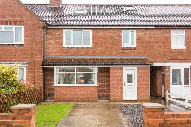 4 Bedrooms Terraced House for sale in Eason View, York, YO24