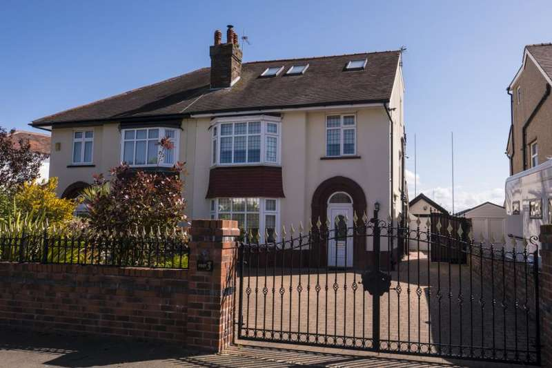 5 Bedrooms Semi Detached House for sale in Clovelly Drive, Hillside, Southport