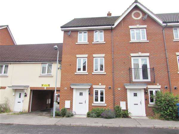 4 Bedrooms Town House for sale in Bull Road, Ipswich