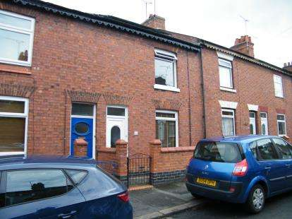 2 Bedrooms House for sale in Walthall Street, Crewe, Cheshire