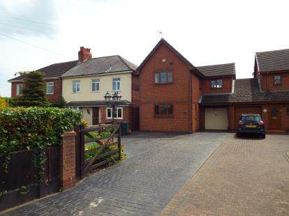 3 Bedrooms Detached House for sale in Chester Road, Sutton Weaver, Runcorn, Cheshire, WA7
