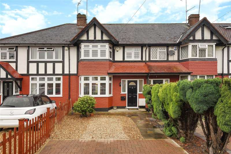 3 Bedrooms Terraced House for sale in Cherry Close, Ruislip, Middlesex, HA4