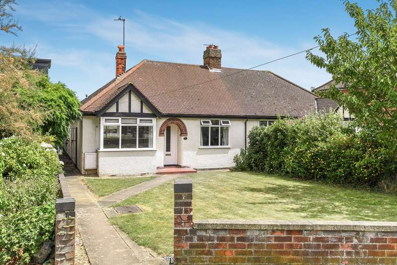 4 Bedrooms Semi Detached Bungalow for sale in Old Hale Way, Hitchin, SG5