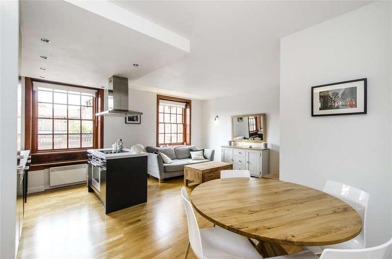 2 Bedrooms Flat for sale in Sir Giles Gilbert Scott Building, Scott Avenue, London, SW15