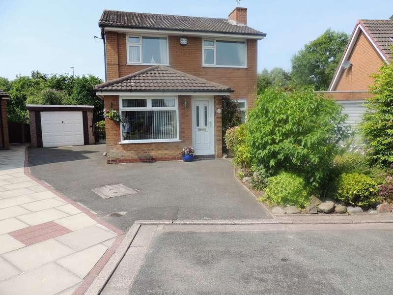 3 Bedrooms Detached House for sale in Mapplewell Crescent, Great Sankey, Warrington