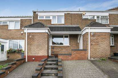 3 Bedrooms Terraced House for sale in Roach Close, Chelmsley Wood, Birmingham, West Midlands
