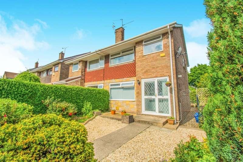 3 Bedrooms Semi Detached House for sale in Greenhill Road, Sebastopol, Pontypool