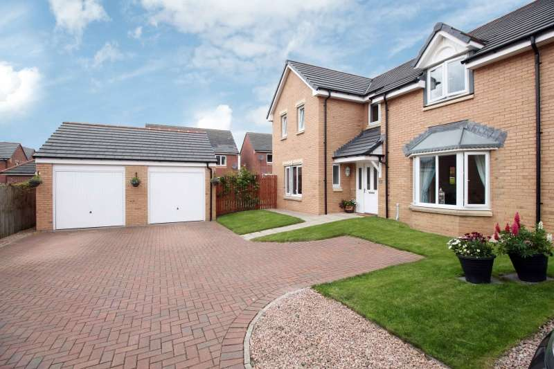 4 Bedrooms Detached Villa House for sale in Kestrel Avenue, Dunfermline, Fife, KY11 8JL