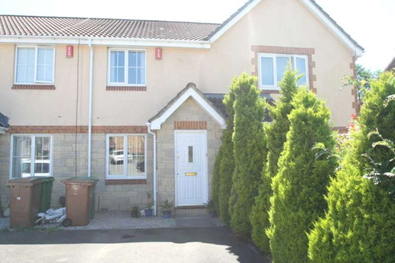 2 Bedrooms Terraced House for sale in Bridle Close, Plympton