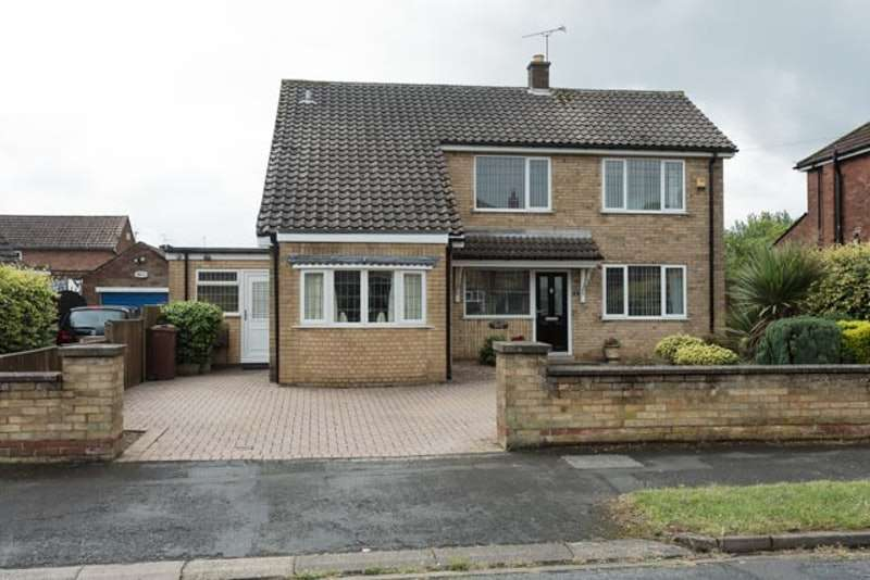 3 Bedrooms Detached House for sale in wynmoor road, scunthorpe, Lincolnshire, DN17