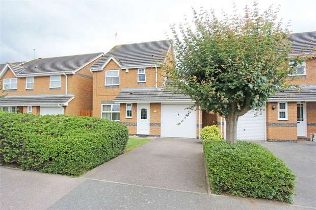 3 Bedrooms Detached House for sale in Eleanor Drive, Milton Regis, SITTINGBOURNE, Kent