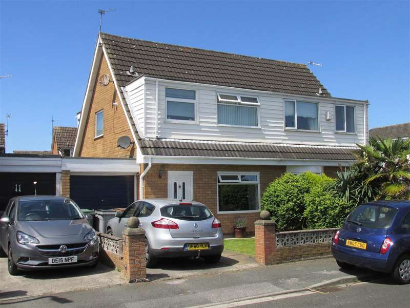 3 Bedrooms Semi Detached House for sale in Rake Hey Close, Moreton