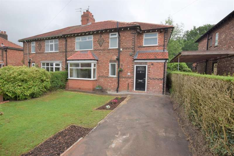 4 Bedrooms Semi Detached House for sale in Vicarage Avenue, Cheadle Hulme