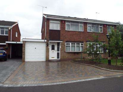 3 Bedrooms Semi Detached House for sale in Millersdale Drive, West Bromwich, West Midlands