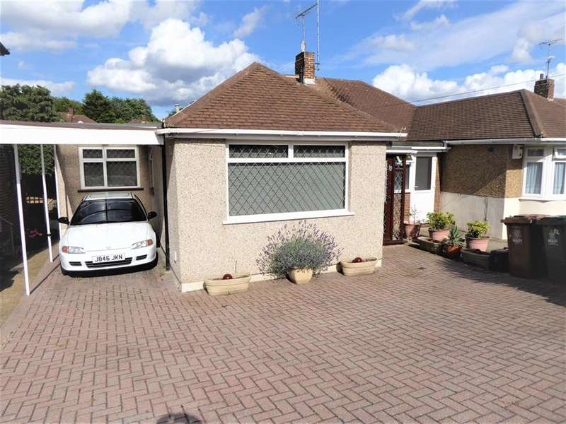 2 Bedrooms Semi Detached Bungalow for sale in Downbank Avenue, Barnehurst, Kent, DA7 6RP
