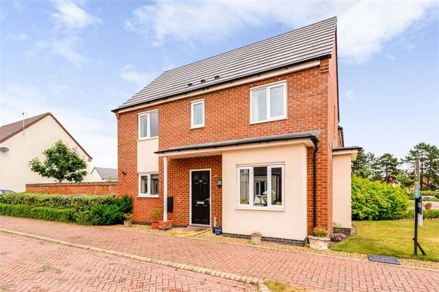 3 Bedrooms Detached House for sale in St Thomas Way, Hawksyard, Rugeley, Staffordshire
