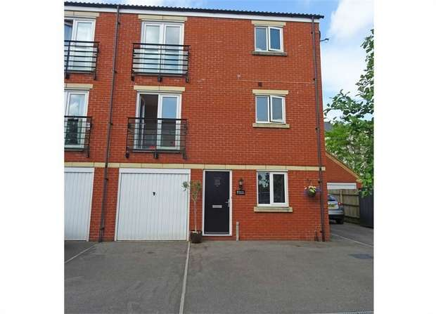 4 Bedrooms Town House for sale in Seacole Crescent, Swindon, Wiltshire