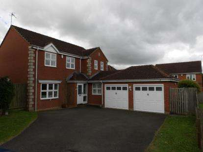 4 Bedrooms Detached House for sale in Countryman Way, Markfield, Leicestershire